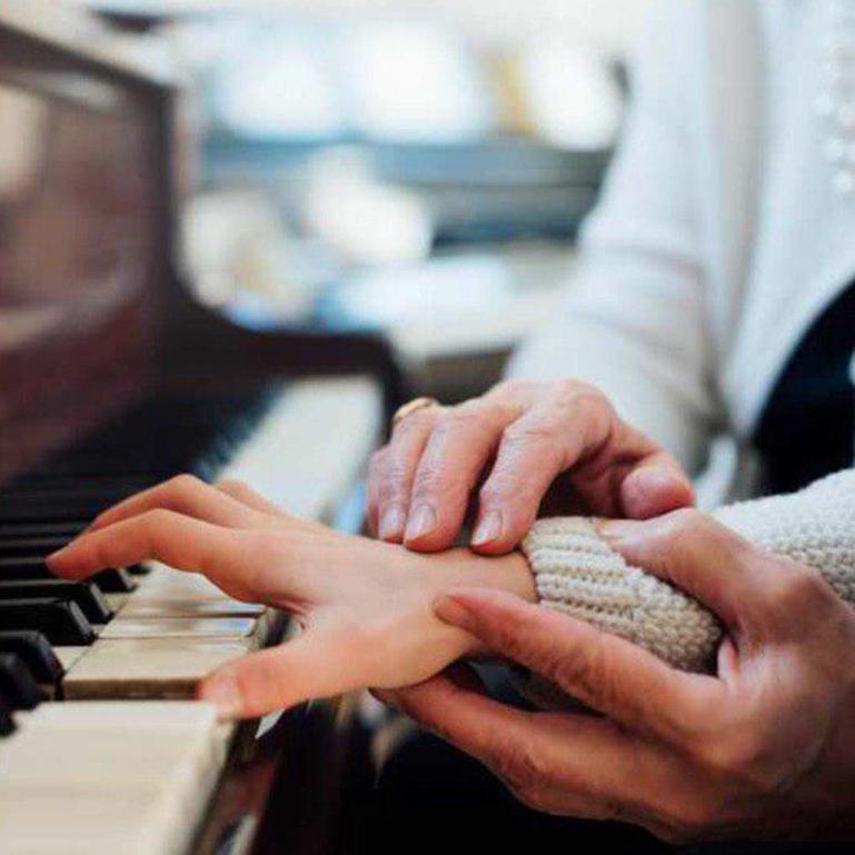 نوازندگی در آموزشگاه موسیقی