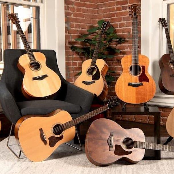 گیتار آکوستیک - آموزشگاه موسیقی - آموزشگاه موسیقی شمال تهران - کلاس آموزش گیتار